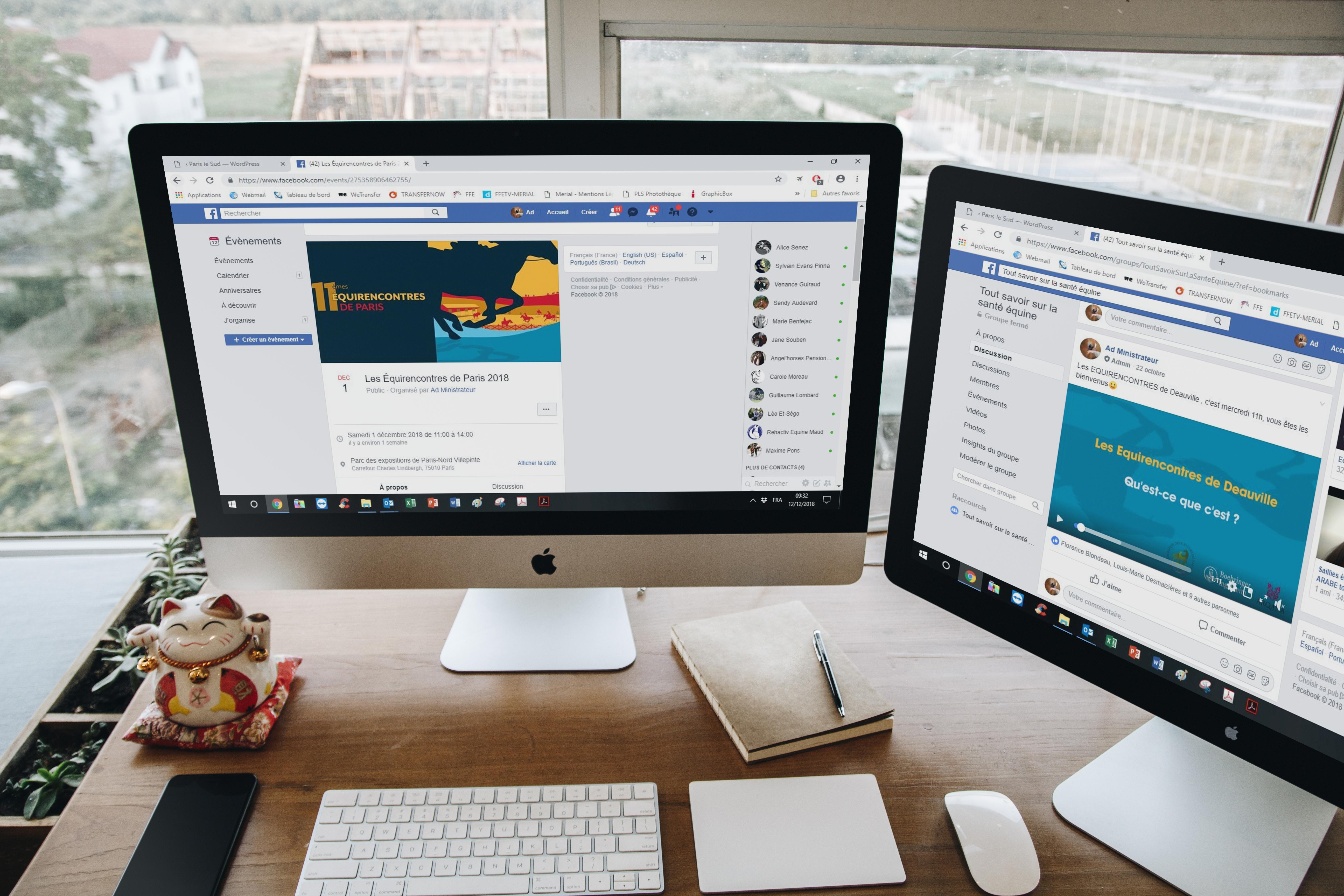 Organisation d'évènements : posts et création de pages évènements